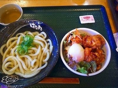 はなまる④かけ小120(130)唐揚げ丼352(380) (2).jpg