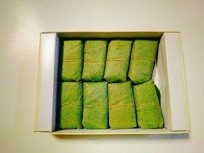 ゐざさ柿の葉寿司1000別8個 (2).jpg