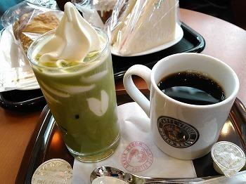 カフェベローチェ 抹茶フロート340 アメリカン190.jpg